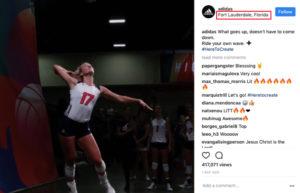 Adidas Instagram geotag