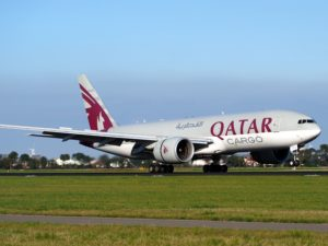 Qatar airlines airplane