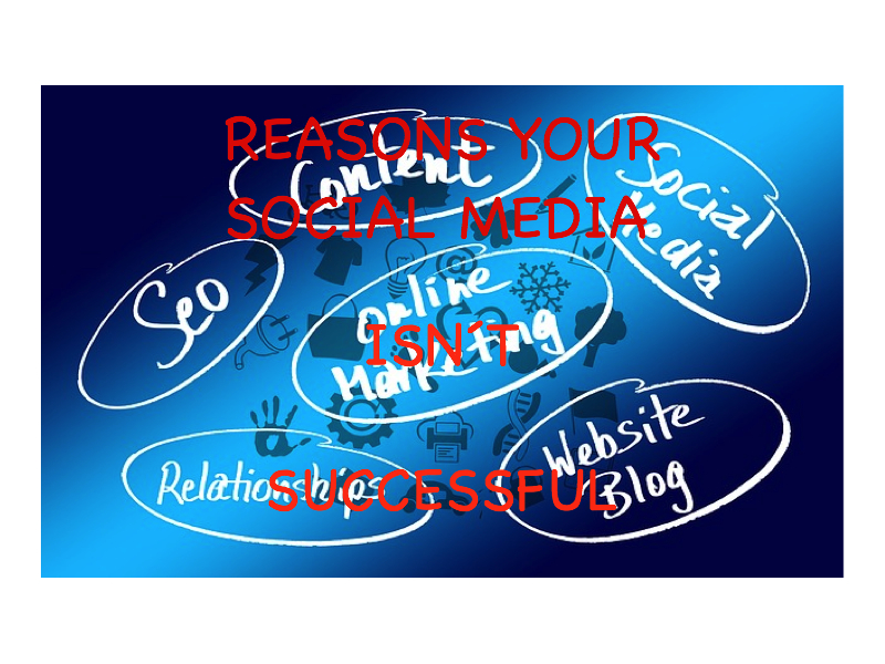 Reasons Your Social Media Marketing Is Not Successful