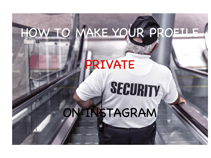 How To Make Your Profile Private on Instagram