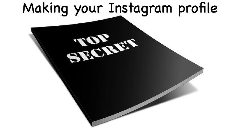 Making your profile private on Instagram