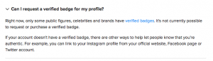 How to get Instagram verified