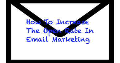 How To Increase The Open Rate In Email Marketing?