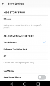 How to hide Instagram Stories