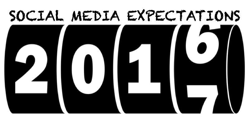 Predictions of Social Media In 2017!