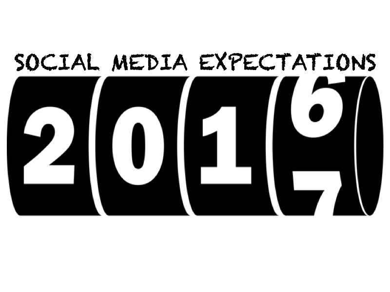 Predictions of Social Media In 2017!
