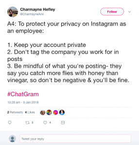 Privacy on Instagram
