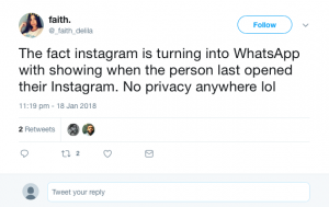 Instagram privacy problem