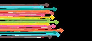 Colourful arrows