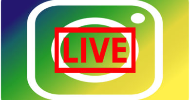 How to use the Instagram Live Feature