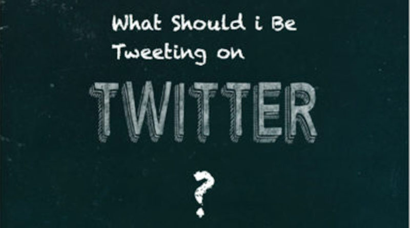 What Should I Be Tweeting on Twitter?