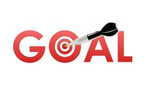 Goals bullseye