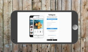 Instagram signup on iphone