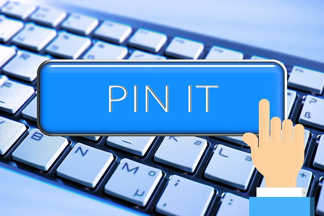 Pin it keyboard button
