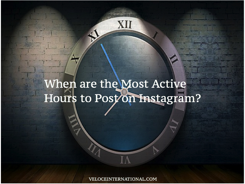 When are the Most Active Hours to Post on Instagram?
