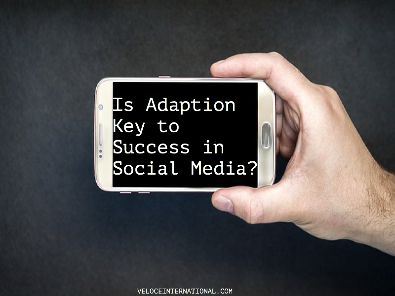 Is Adaption Key to Success in Social Media?
