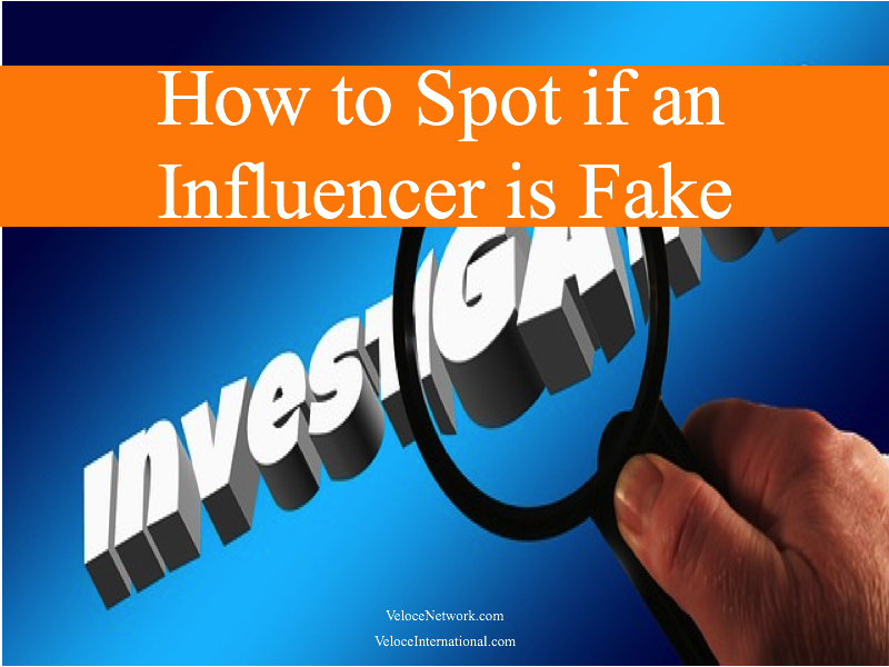 How to Spot if an Influencer is Fake