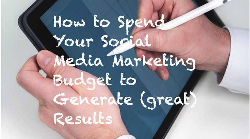 How to Spend Your Social Media Marketing Budget to Generate Results