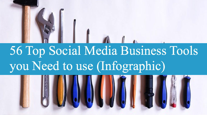 56 Top Social Media Business Tools you Need to use (Infographic)