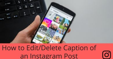 How to Edit/Delete Caption of an Instagram Post