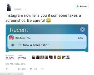 Instagram Now Notifies Users When You Screenshot Their Photos