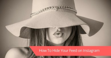 How To Hide Your Feed From Specific People on Instagram