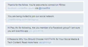 Why You Shouldn't Send Automated Messages on Social Media