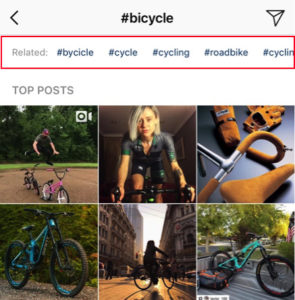 Instagram Hashtag recommendations