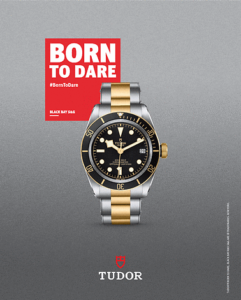 Tudor watches born to dare social media marketing