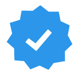 Instagram verified badge blue tick