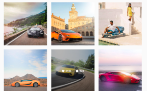 Lamborghini social media strategy