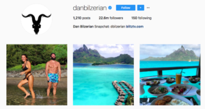 Instagram account algorithm