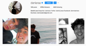 Damn Daniel Instagram account