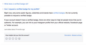 Instagram verified badge How to get verified instagram