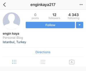 Fake accounts bots Instagram