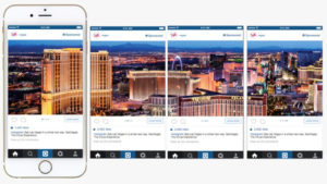 Instagram multiple posts panoramic posts