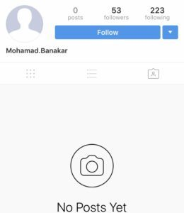 Instagram Fake Bot Account