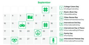 Sproutsocial hashtag calendar