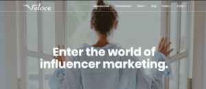 Veloce Network Influencer marketing