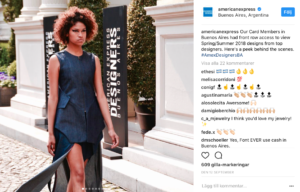 American express social media marketing