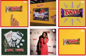 Twix social media marketing