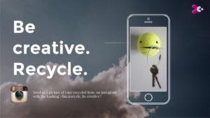 Instagram recycle campaign