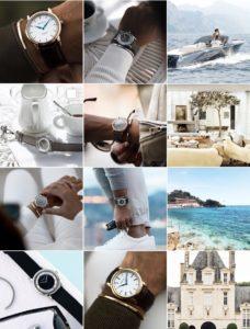 Corniche watches social media marketing