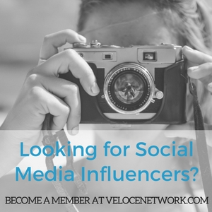 Find influencers on Velocenetwork.com