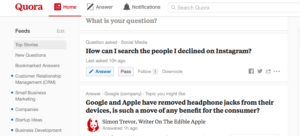 Quora social media marketing