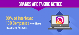 Statistics brands use Instagram for marketing