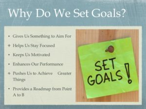 Set goals social media marketing