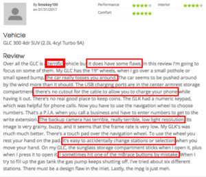 Leverage social media reviews