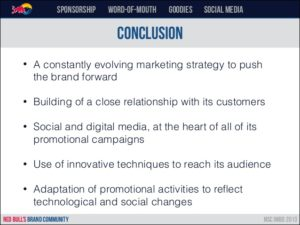 Red Bull social media marketing strategy