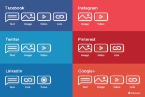 What type of content should you share on different social platforms